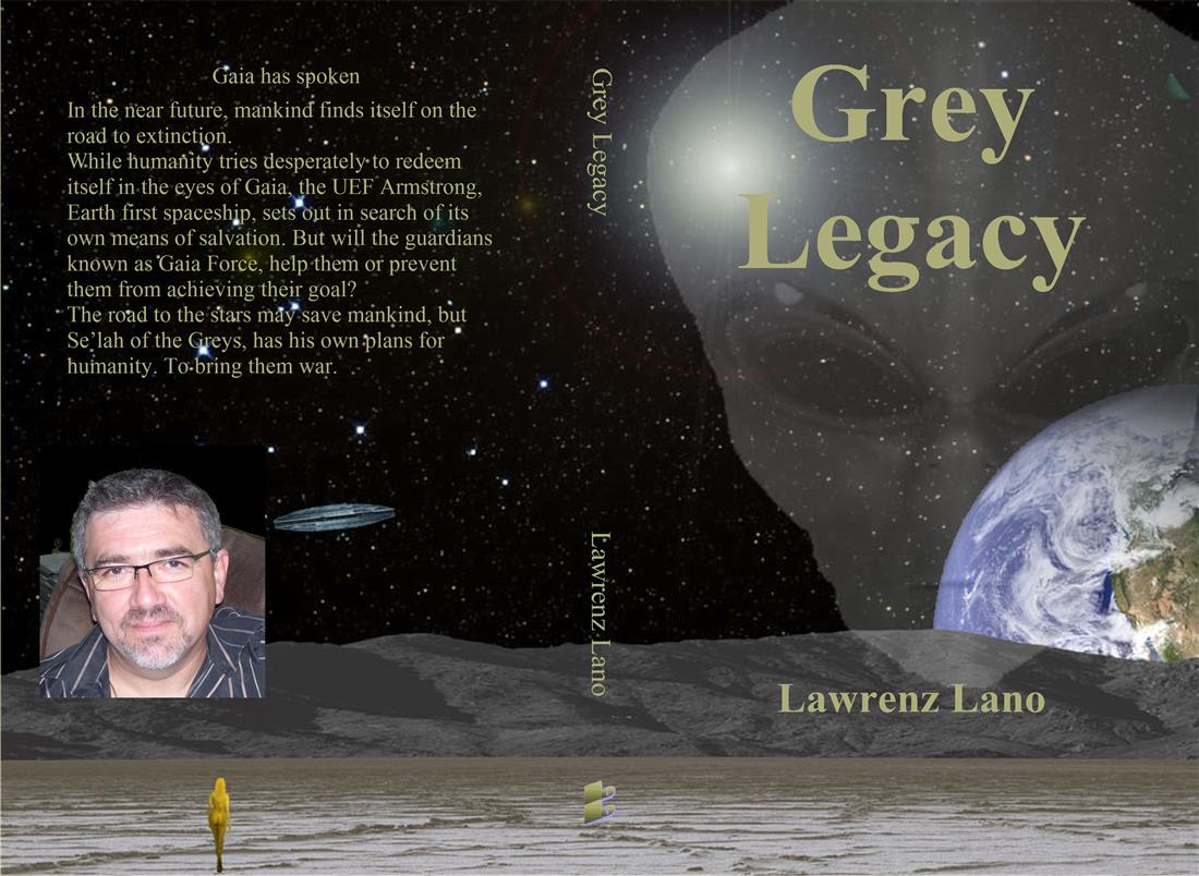 Novel Grey Legacy by Lawrenz Lano